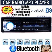 2015 new 12V Car tuner Stereo bluetooth FM Radio MP3 Audio Player Phone USB/SD MMC Port Car radio bluetooth tuner In-Dash 1 DIN