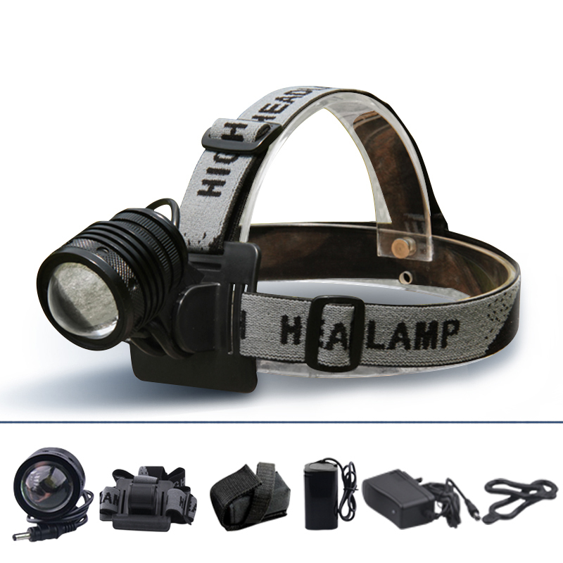 1200 Lumens led headlight zoom out CREE xml T6 black cree led headlamp bike accessories led cycle light camping lantern lamp(China (Mainland))