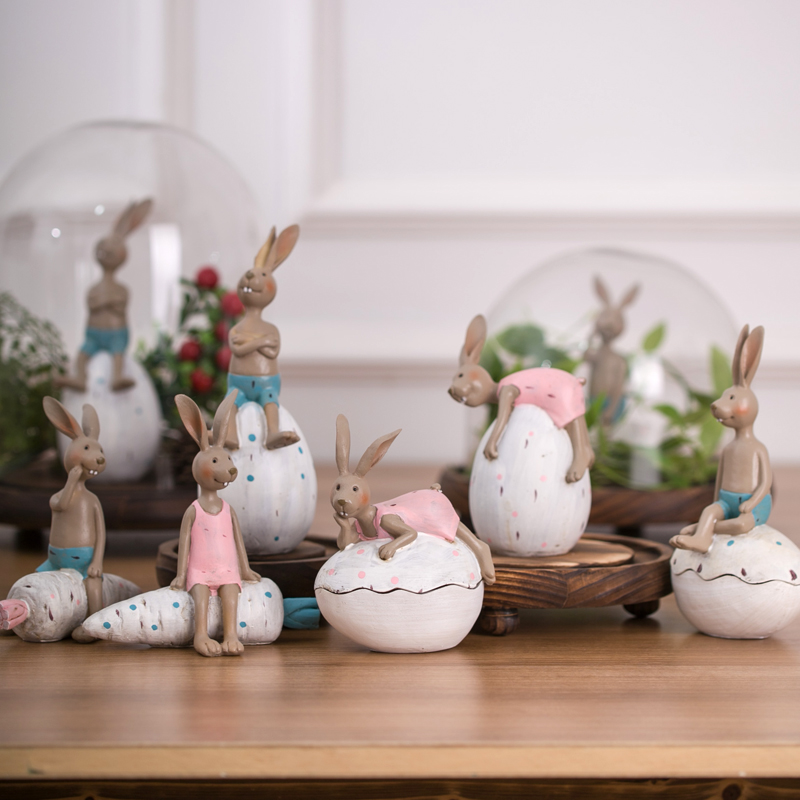Wedding Gifts For Country Couple : French country couple resin doll wedding gift Home Furnishing super ...