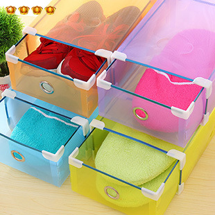 2015 Storage 6850 South Translucent Plastic Drawer Receive Shoe Female Serging Household Products Wholesale Store Content Box(China (Mainland))