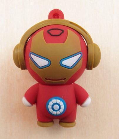 Mini Hero figure usb flash drive 8GB/16GB/32GB