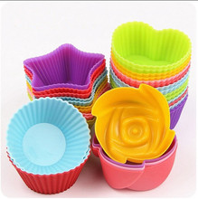 6pcs/set Kitchen Accessories Baking Tools For Cakes 4 Macaron Type Silicone Mold Soap Mold DIY Cake Mold Pastry Tools