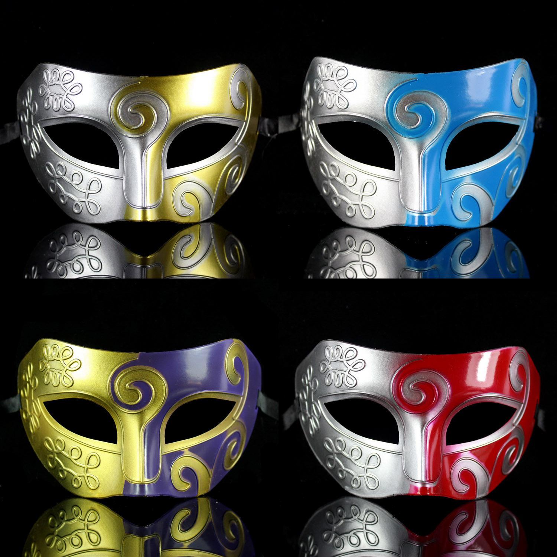 wholesale 10pc/lot halloween fancy costume Dance party vintage mask / croons decorative pattern eva mask(China (Mainland))