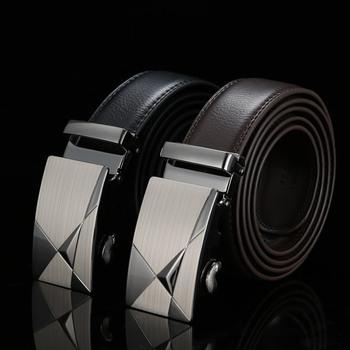 Real Genuine Leather Designer Belts For Men Top Quality Mens Belts Luxury Riem Cinture Uomo Ceintures Pour Hommes De Luxe Marque