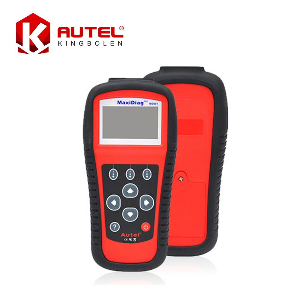 2016 New Arrival AUTEL MaxiDiag Pro MD801 4 in 1 Code Scanner MD 801 = JP701+EU702 +US703 +FR704 Multi-Functional Scan Tool(China (Mainland))
