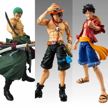 New Anime Figures One Piece MegaHouse POP VAH Variable Monkey D LUFFY PVC Ace zoro Action Figure Collectible Model Toy Onepiece