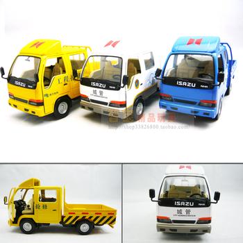 nhr truck exquisite WARRIOR acoustooptical double-door alloy car model