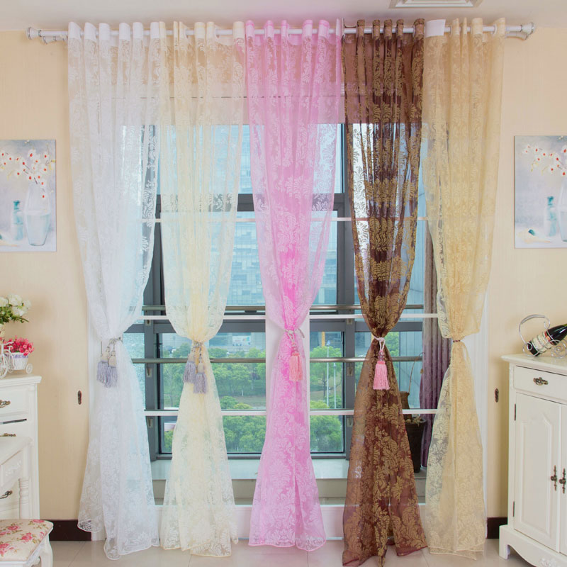 Pink Striped Curtains Children Window Curtains Pink Bedroom Curtains
