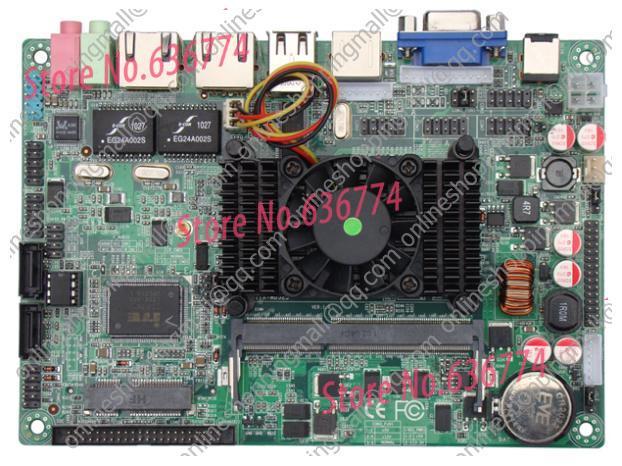 Atom 3.5 d525 car pc d525 flat d525 motherboard pos machine(China (Mainland))