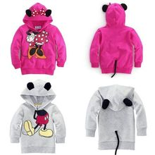 Baby Girls Boys Kids Mick Mou Min Tops Hoodies Sweatshirt Outfits 1-6Y CA(China (Mainland))