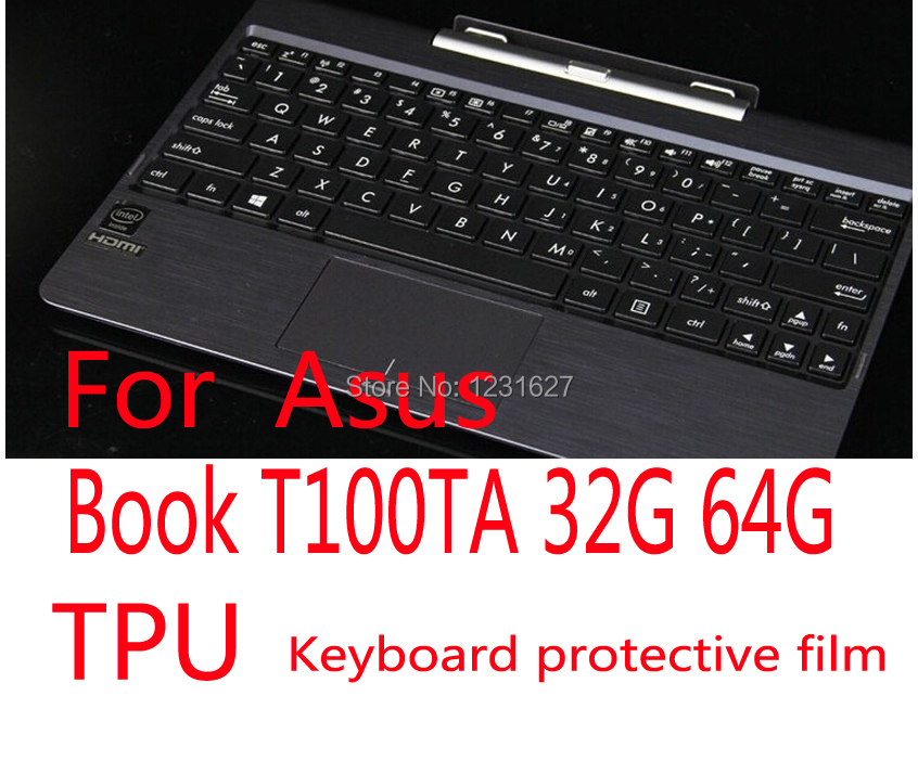 Book T100TA 32G 64G tablet computer for Asus special ultra-thin high permeability TPU keyboard protective film sleeve(China (Mainland))