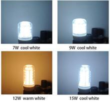 Free shipping Buy 15 and 1 extra free 220V Corn light led e27 lamp bulb 3W 5W 7W 9W 12W 15W 18W 5730 CCC and CE