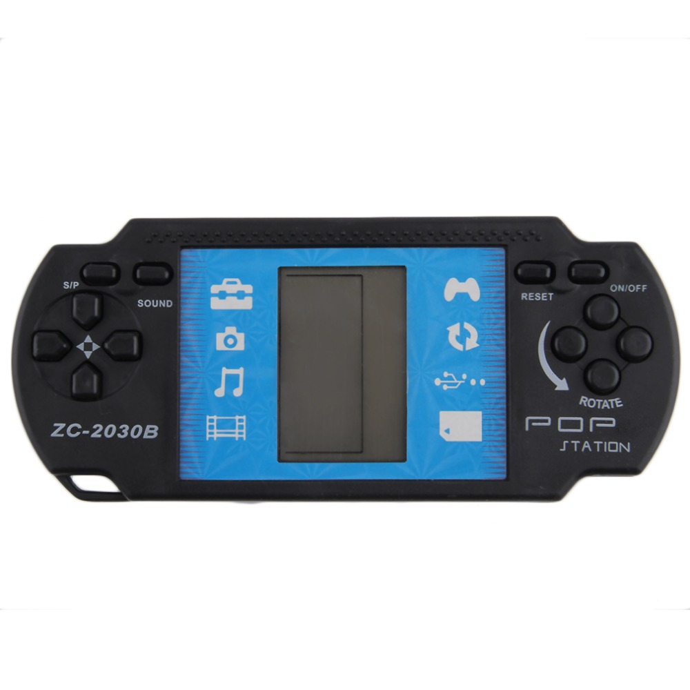 2016 Brand New Kids Children Classical Game Players Portable Handheld Video Tetris Game Console For PSP Gaming(China (Mainland))