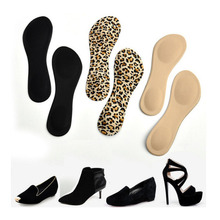 1 Pair Women High Heels Sponge 3D 4D Shoe Insoles Cushions Pads DIY Cutting Sport Arch Support Orthotic Feet Care Massage(China (Mainland))