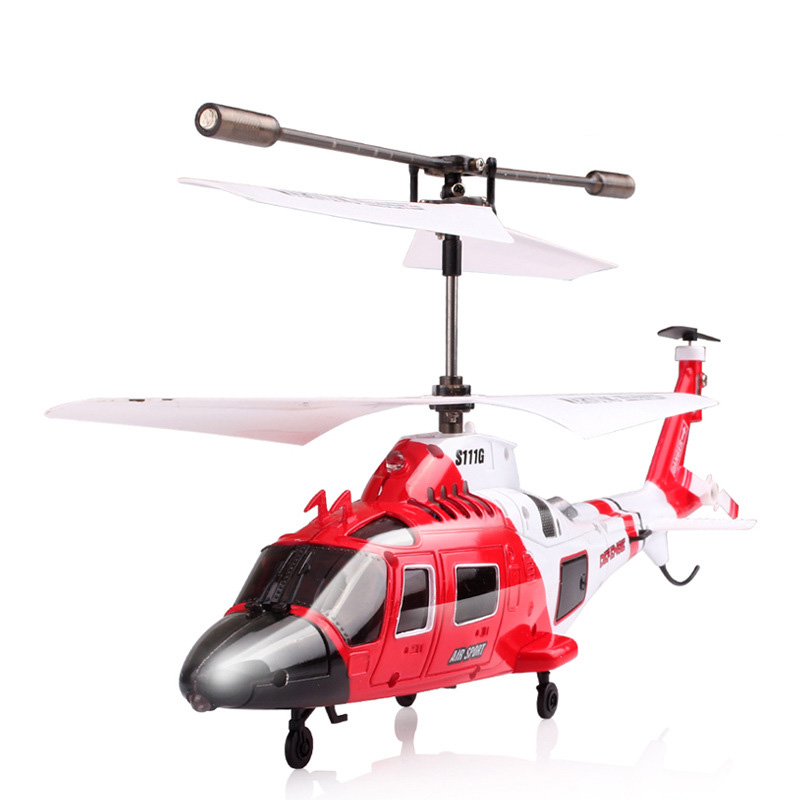 Syma S111G 3 Channel Gyro RC Helicopter Remote Control Quadrocopter Toys 1 set/lot(China (Mainland))