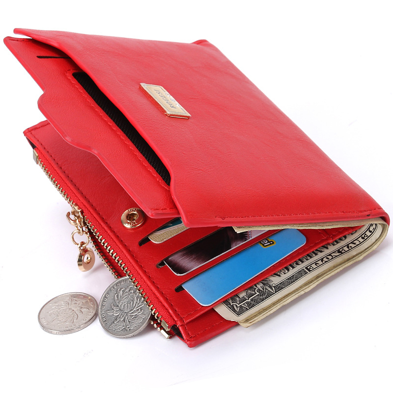 Luxury women wallets high quality leather wallets classic style fashion clutch purses coin purses(China (Mainland))