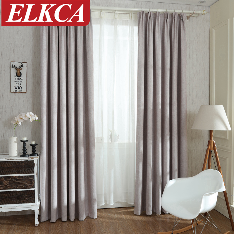 colors blackout curtains for the bedroom faux linen modern curtains