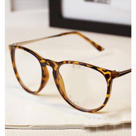 Glasses Frames Big W : Fashion 2015 big round glasses frames Mens Womens Nerd ...