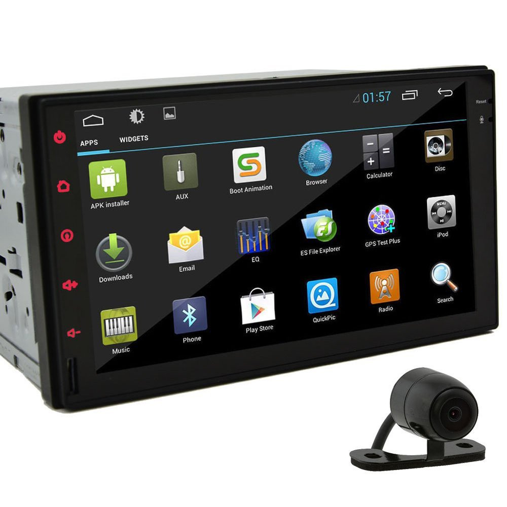 7 39 39 hd in dash car radio tablet android 4 2 double 2din. Black Bedroom Furniture Sets. Home Design Ideas