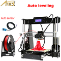 Anet Auto Leveling Optional High Precision Reprap Prusa 3d printer DIY Kit With Free1Roll Filaments Aluminum