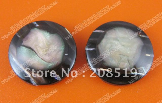 NB070 invisible holes button 50pcs 21.5mm coffe color women's clothing buttons garment buttons