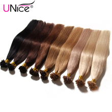 "7A Keratin U Tip Human Hair Extensions 1g/s 18""-24"" U Tip Fusion Hair Extensions Nail U tip Hair Extensions Human Straight Hair(China (Mainland))"