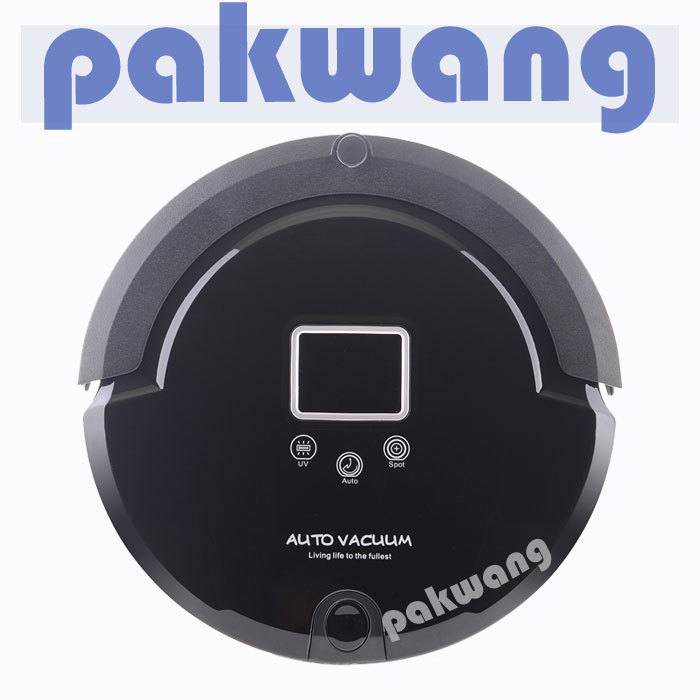 Multifunction Intelligent Robot Vacuum Cleaner with Sweep Vacuum Mop Sterilize LCD Touch Screen Schedule Self-charge