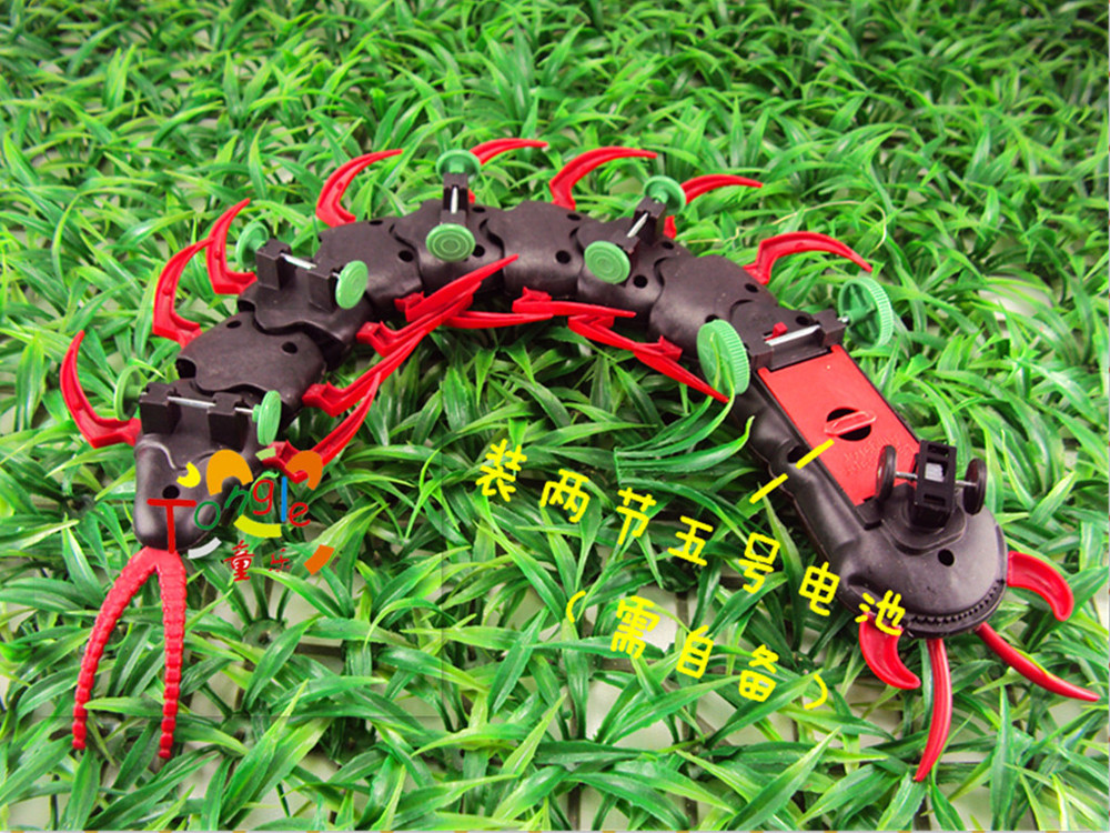 Infrared RC Centipede / Giant RC Scolopendra Remote Control USB Creepy-crawly Toy(China (Mainland))