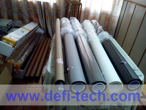 Adhesive transparent Rear projection film,High contrast high definition,White film 1.524M*3M(China (Mainland))