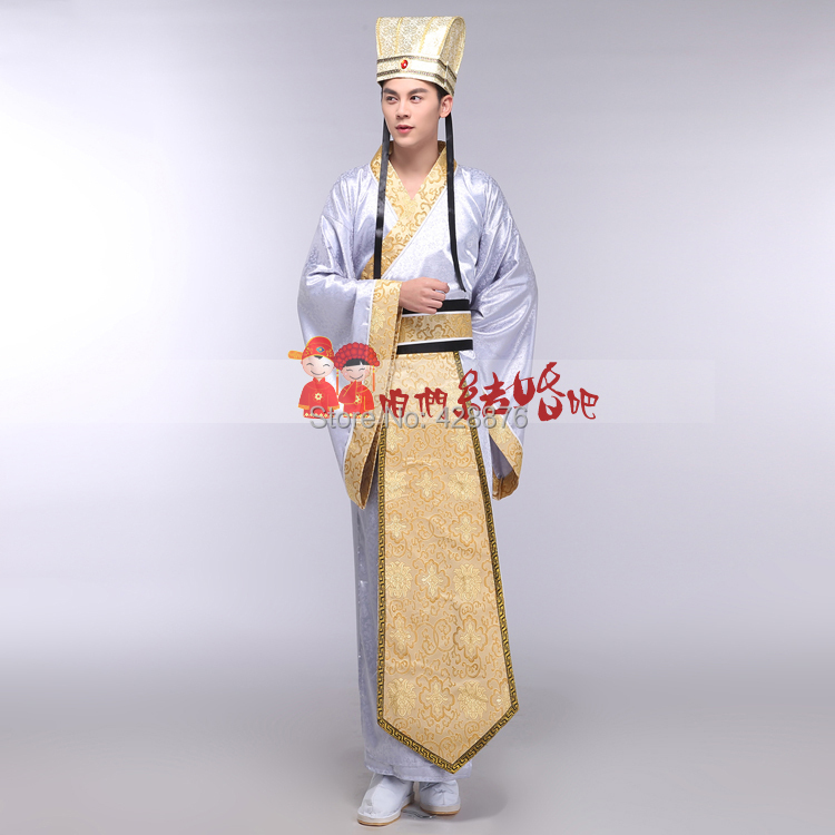 New 2015 Ancient Chinese Hanfu Costume Men Clothing Traditional China Tang Suit Oriental Chinese Traditional Dress Men togae