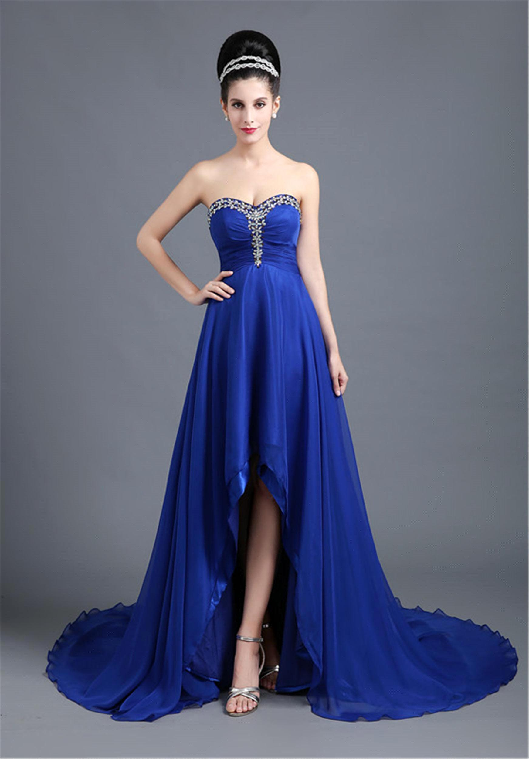 Prom Dresses With Long Back And Short Front - Eligent Prom Dresses
