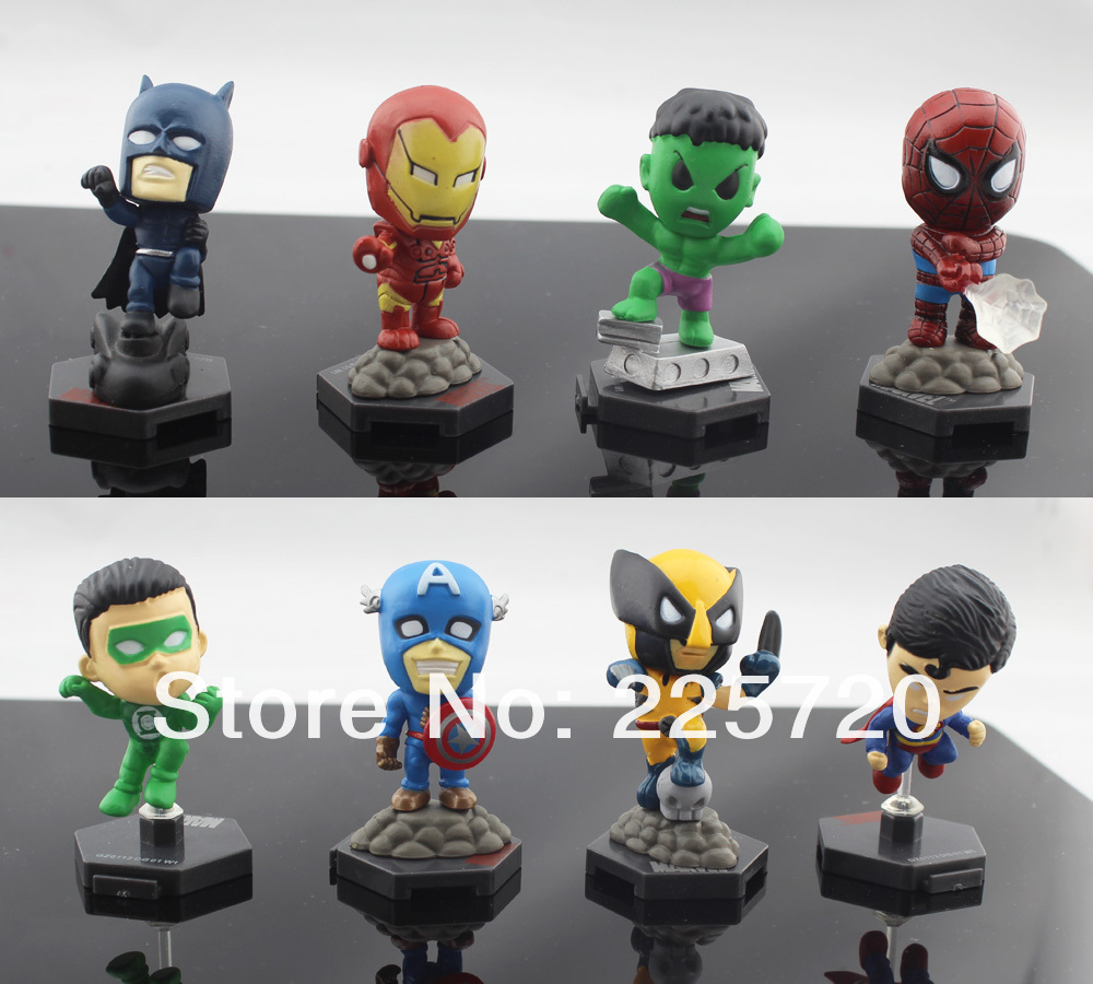 Miniature Toys For Boys : Buy mini avengers movie american spiders hulk captain