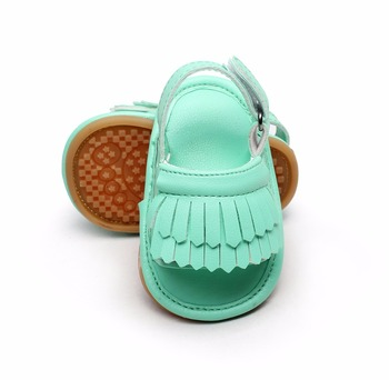 2016 New designs Popular Hot sale Double Tassel Pu leather Baby moccasins  child Summer girls sandals Sneakers Infant shoes