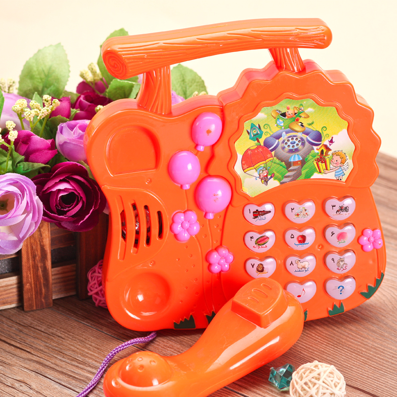 Toys For 0 2 Years : New child music toy phone baby years old