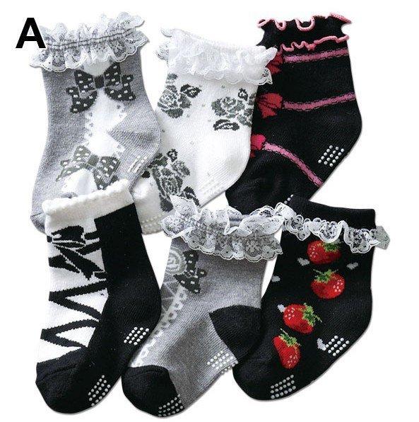 Free shipping Soft Baby socks, 9-15cm, pink sweety style kids shoes slipper sock footwear