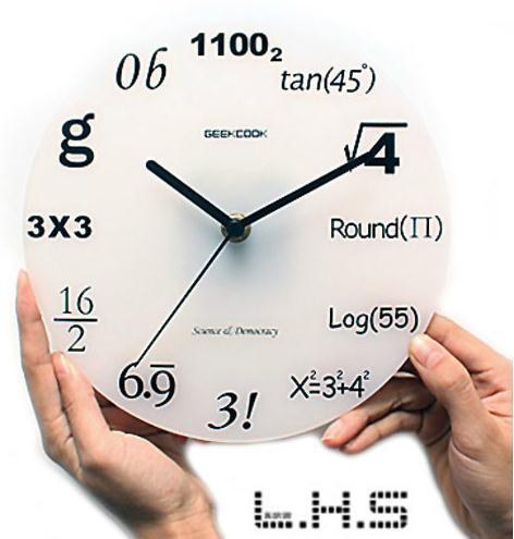 Zakka wall clock digital home indoor fashion decoration wall clock Haas
