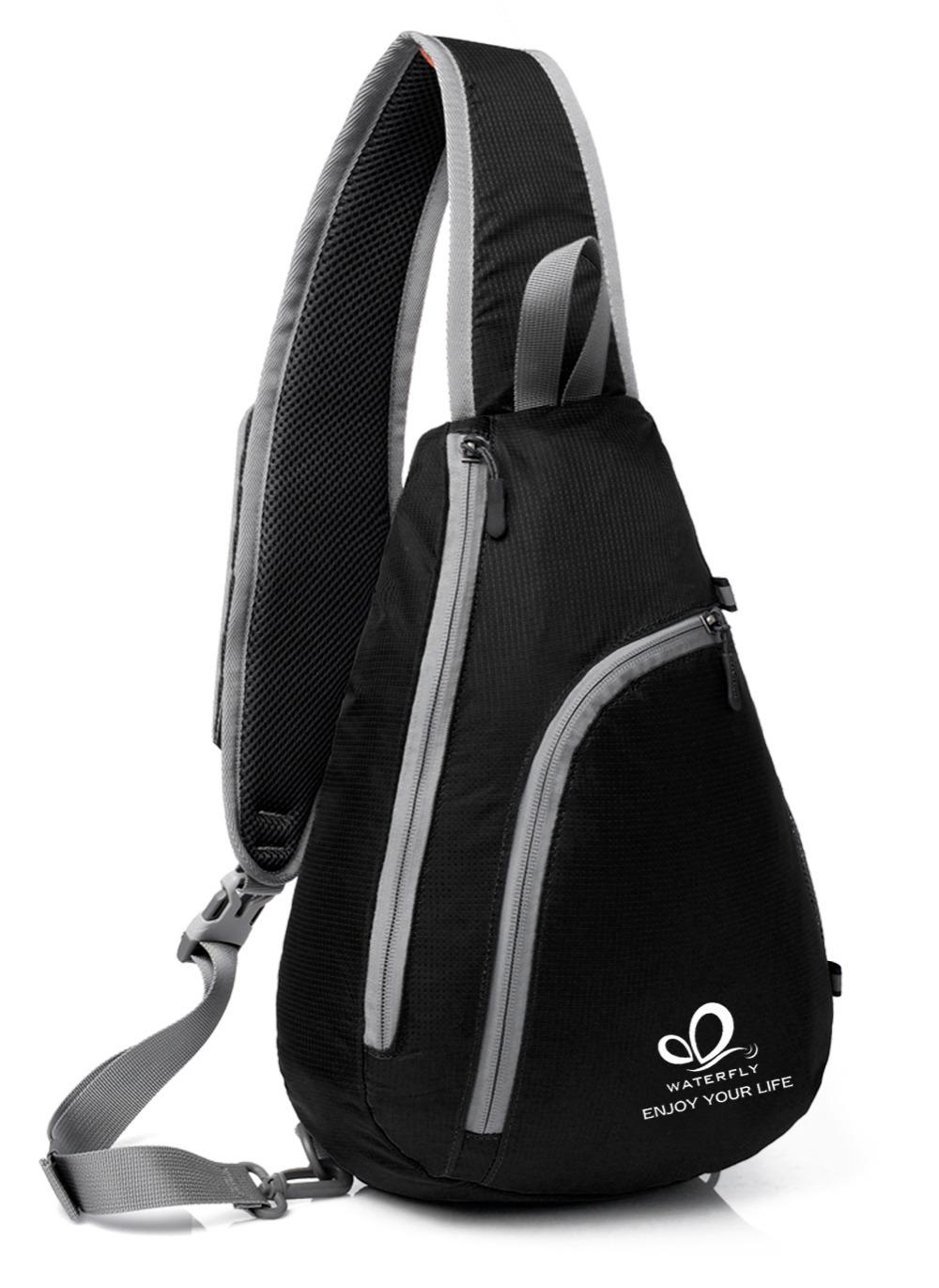 Fashion One Shoulder Backpack Outdoor Triangle Trend Chest Pack Men and Women Single Backpack Sport Shoulder