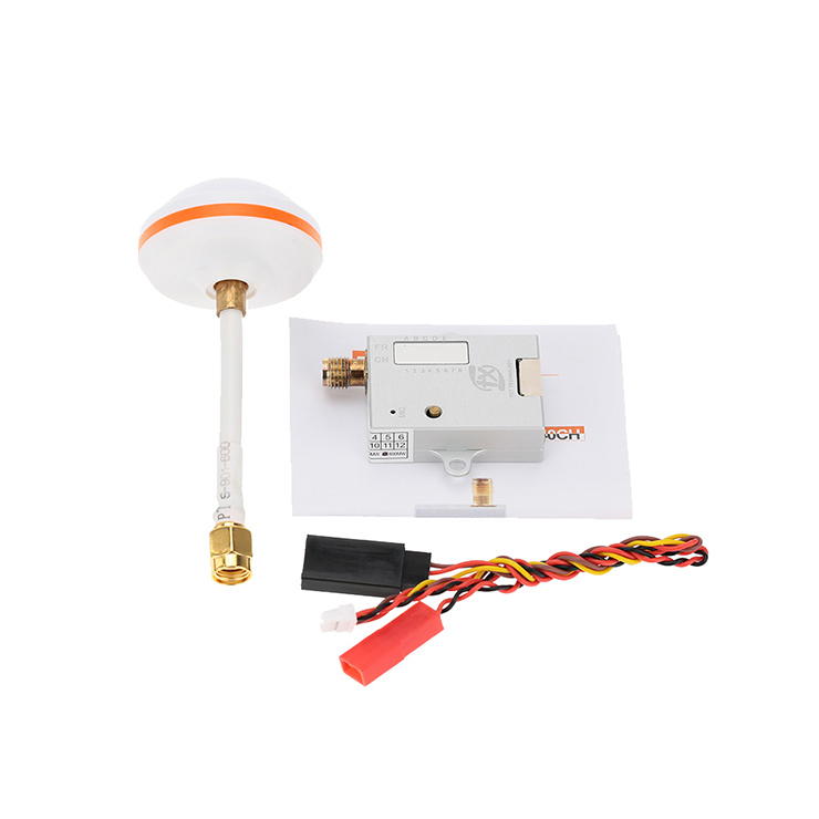 5.8G 600MW FPV Game Special Frequency  Transmission System Transmitter Ultralight Aircraft Crossing Image Transmission X40-6