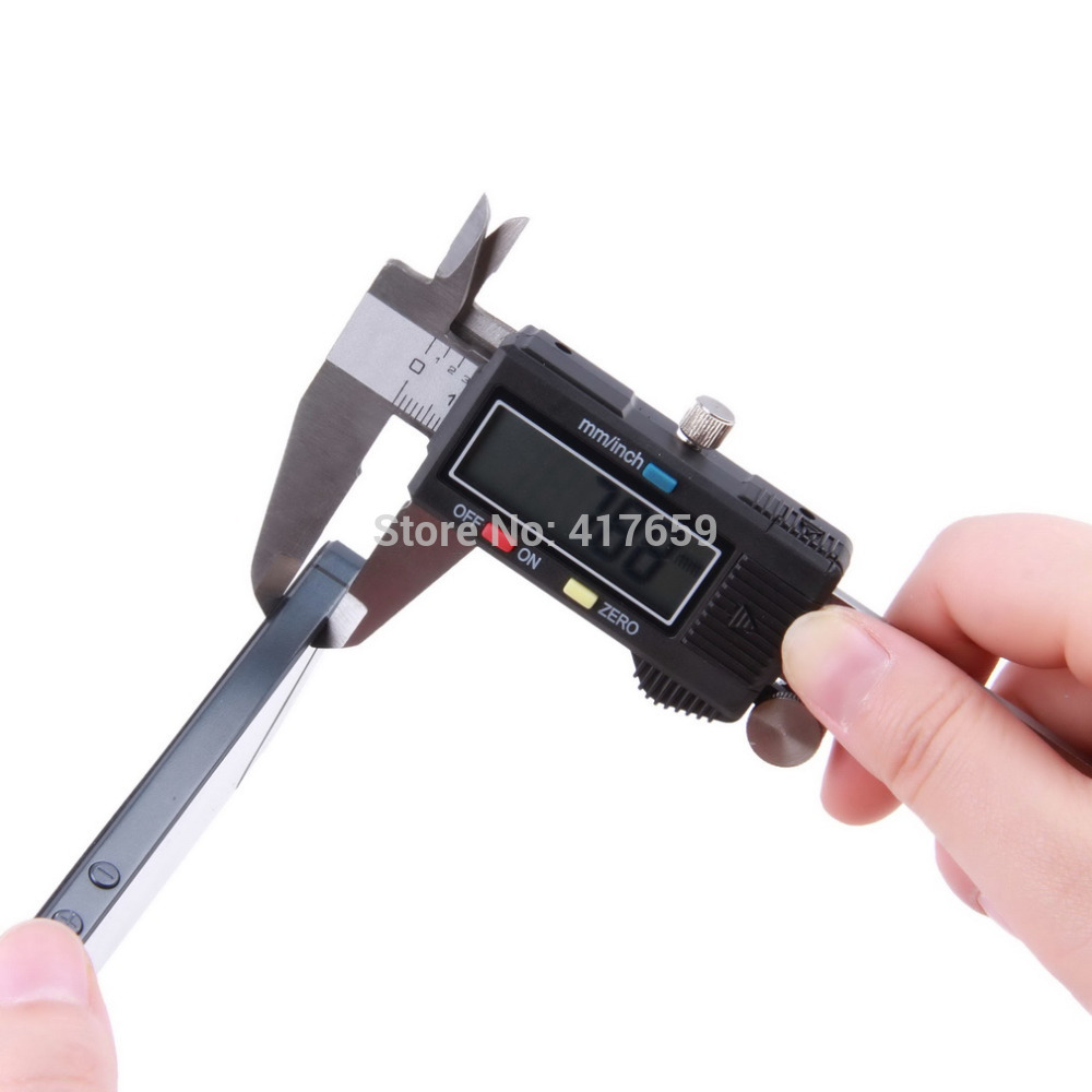 1pc 6 150 mm Digital Vernier Caliper Micrometer Guage Widescreen Electronic Accurately Measuring Stainless Steel