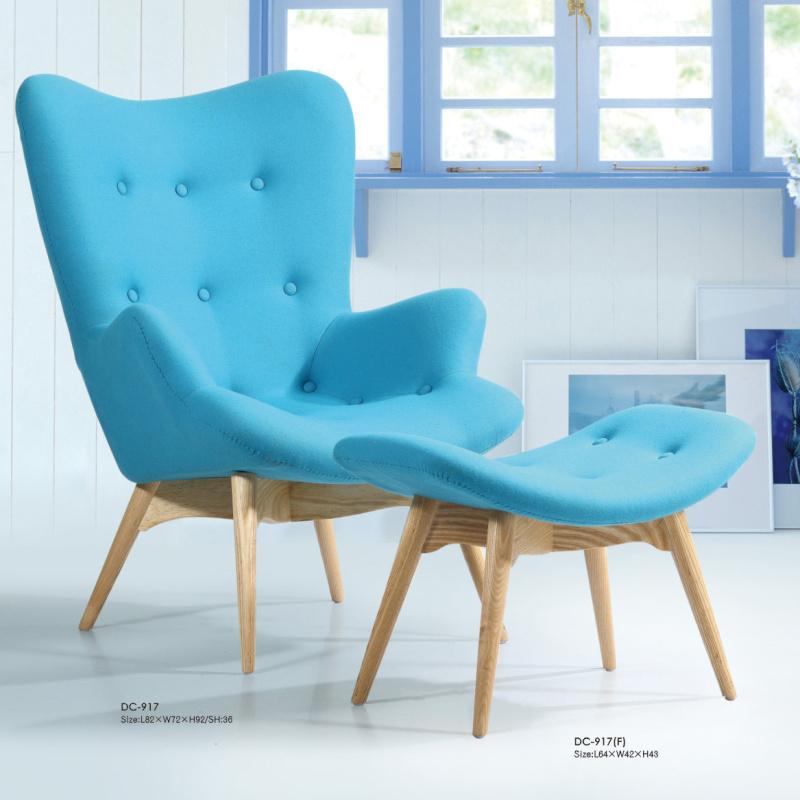 scandinavian minimalist wood armchair single room cafe chair ikea sofa