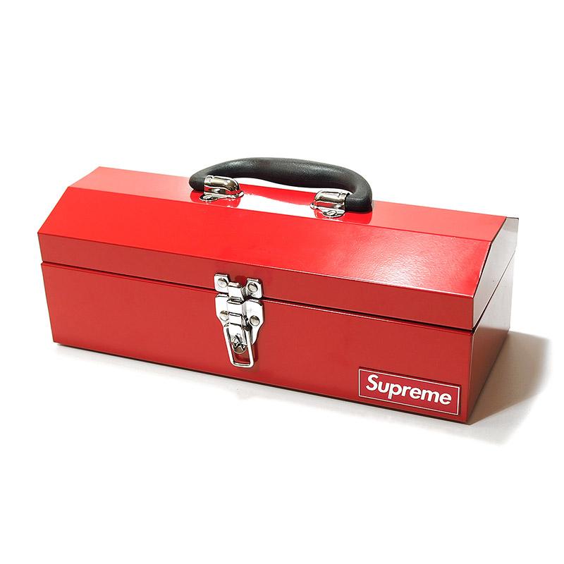 supreme metal tool box 14inch*6inch*5inch