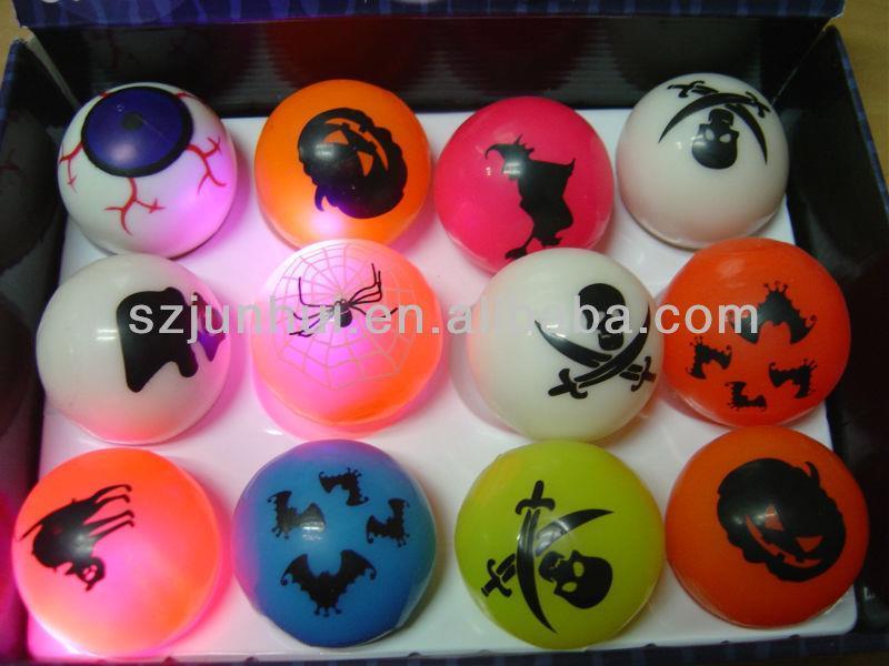 2016 Light-Up Toys &flashing ball toy/ toy balls/bouching ball Novelty & Gag Toys FreeShipping(China (Mainland))