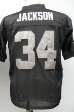 Jim Otto Ken Stabler Jim Plunkett Bo Jackson Fred Biletnikoff JACK TATUM Men's Throwback Jersey Size 48-56(China (Mainland))