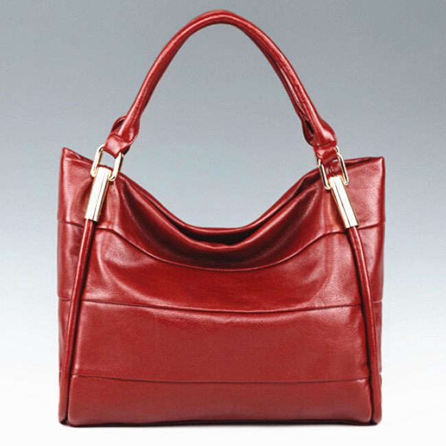 2015 New Women PU Leather Bags Fashion Women Leather Handbag Vintage Female Shoulder Bag Ladies PU Leather Tote Brand Discount(China (Mainland))