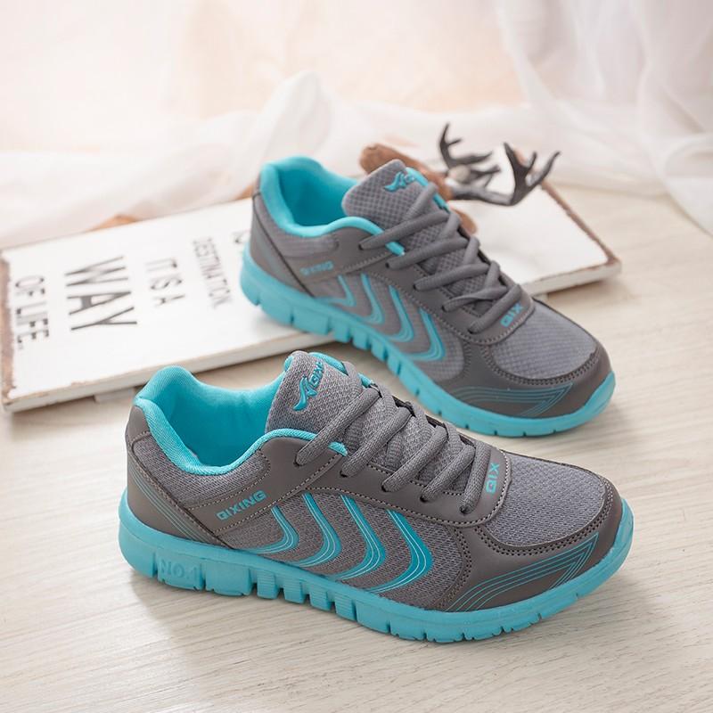Горячая Продажа Женской Моде Обувь для Ходьбы Летние Легкая Дышащая Повседневная обувь Квартиры Zapatos Mujer Тренеров