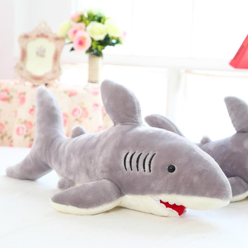 80cm Size Shark Plush Toy Deer Doll Cartoon Doll