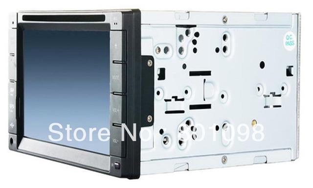 Universal 2 Din intelligent car multimedia player DVD navigator with DVD GPS bluetooth iPod radio