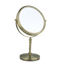 Double Faced Desktop Makeup Mirror Folding Cosmetic Mirror Portable Compact Mirror(China (Mainland))