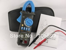 Blue Digital Multimeter AC DC Current Clamp Meter backlight Cap Test resistance, capacitance, frequency FOR MS2018A - 1Kins Technology Co.Ltd store