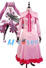 Buy Hot Anime Akame ga KILL! Night Raid Sniper Mine Gown Cosplay Costume Pink Pary Dress for $69.00 in AliExpress store